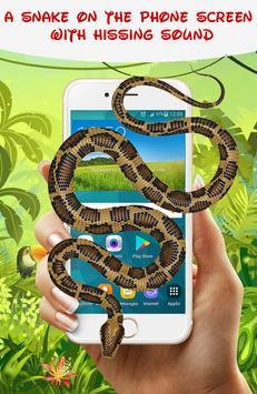 Snake On Screen Hissing Joke 🐍🐍 poster
