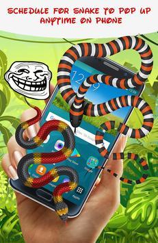 Snake On Screen Hissing Joke 🐍🐍 apk screenshot