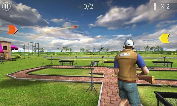 飛碟射擊 - Skeet Shooting 3D 截图 1