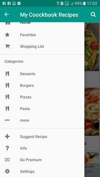 My Cookbook Recipes apk screenshot