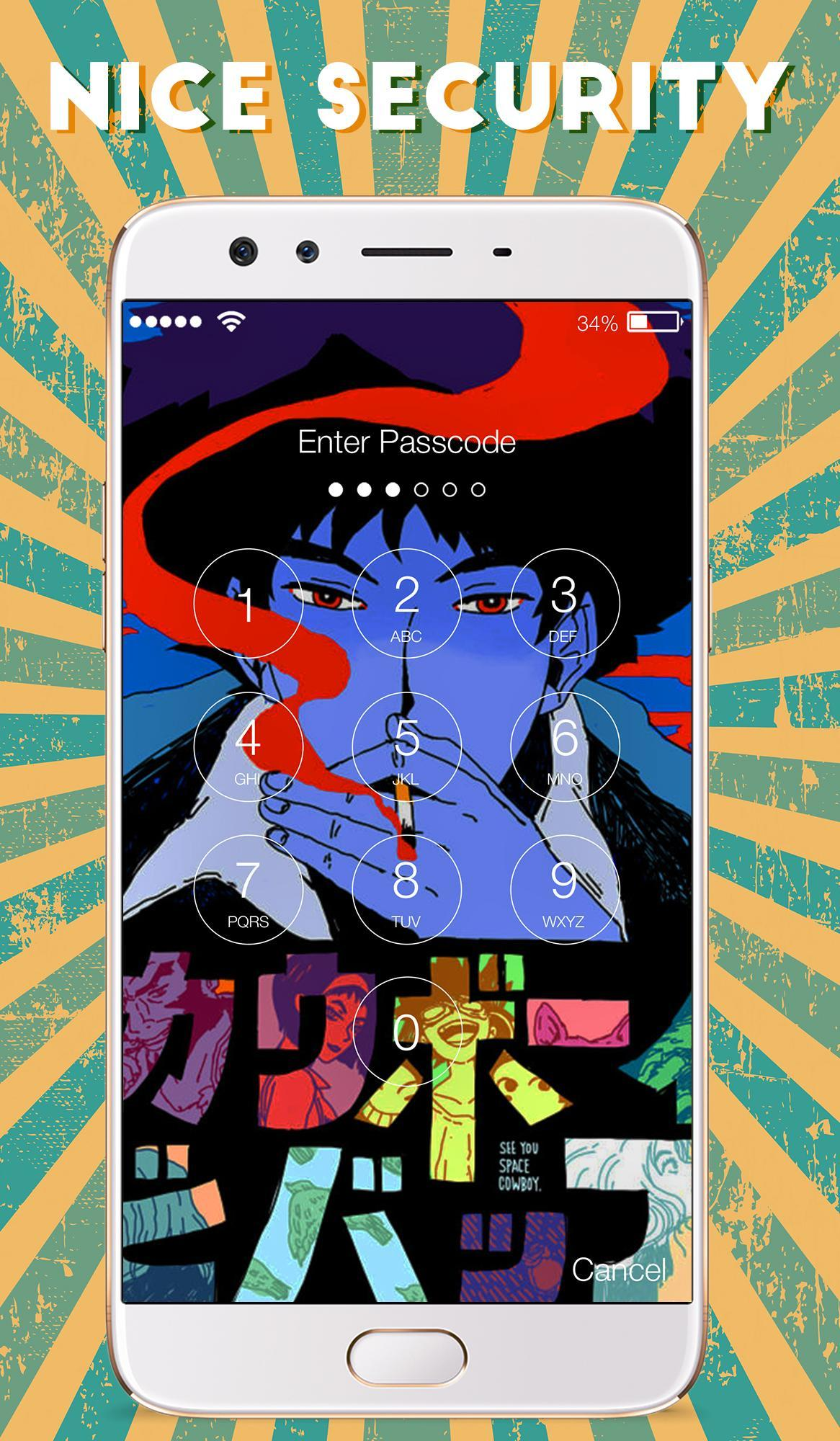 Cowboy Bebop Anime Space Cowboy Art Lock Screen For Android Apk