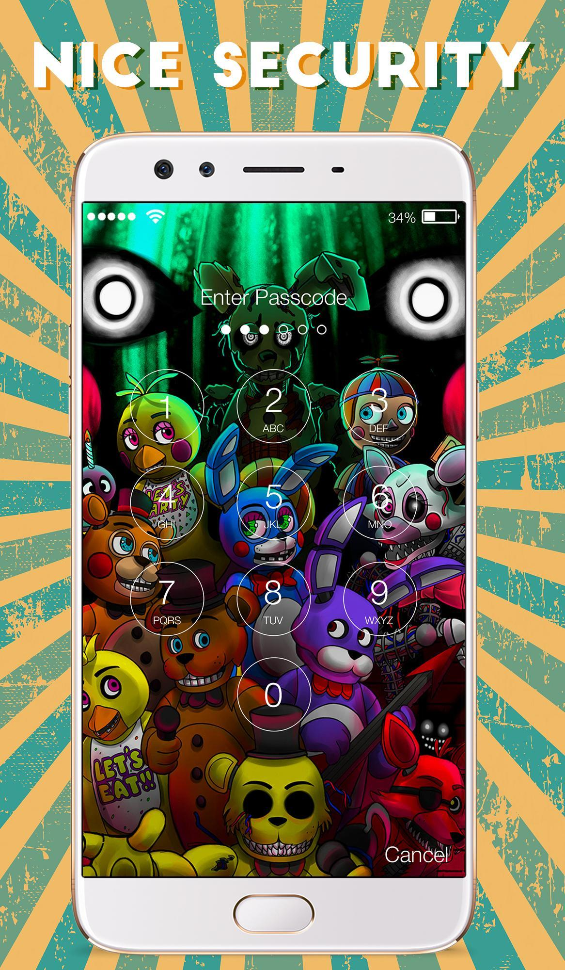Freddy S Wallpapers Fnaf Five Nights Lock Screen For Android Apk