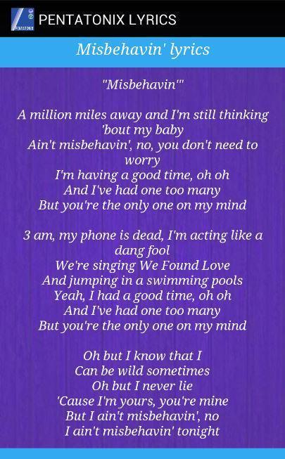 PENTATONIX Song Lyrics for Android - APK Download