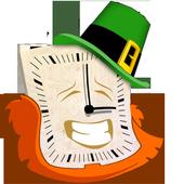 St Patrick's Day Analog Clock icon