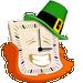 St Patrick's Day Analog Clock