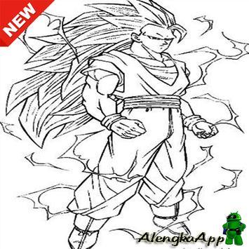 Super Saiyan Image Sketch screenshot 5