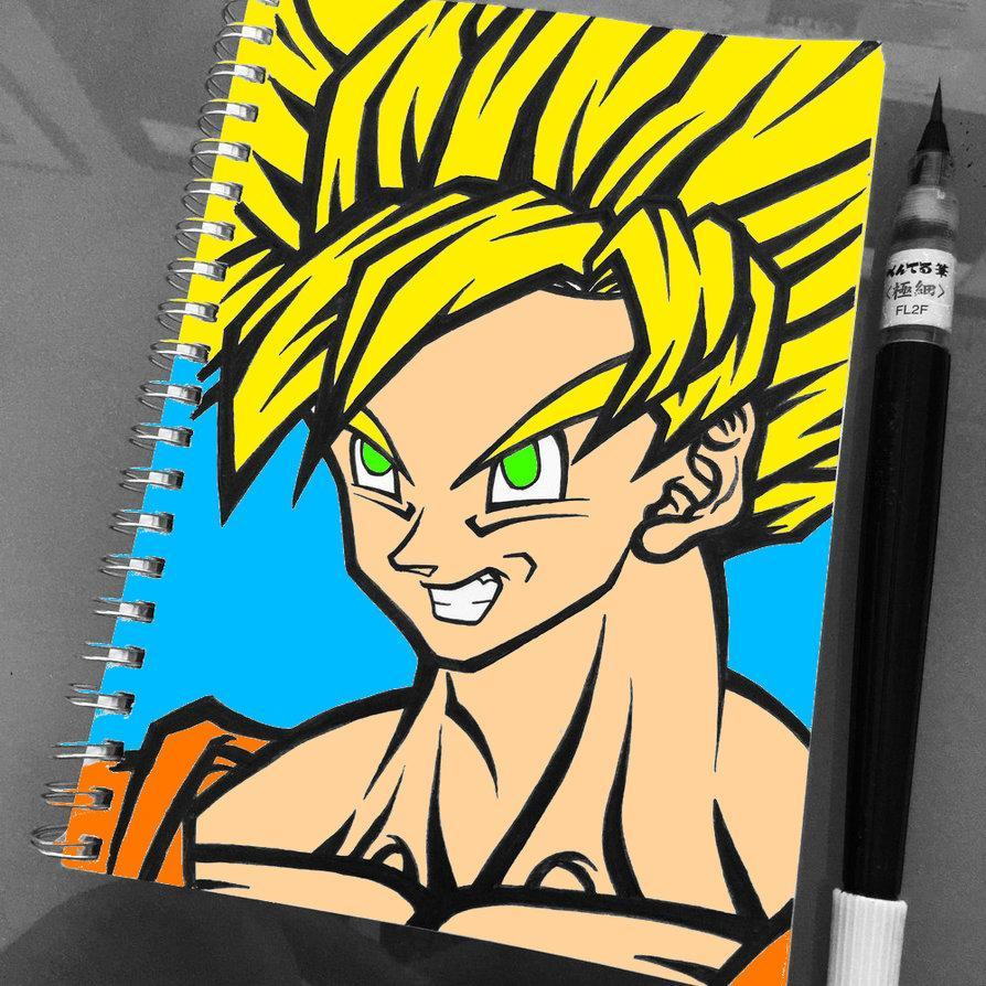 How To Draw Goku Super Saiyan Pour Android Telechargez L Apk