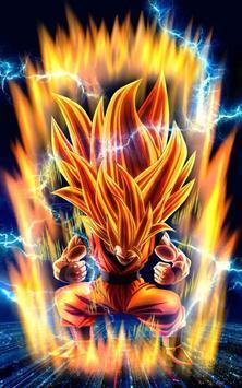 Saiyan Dragon Goku Fighter Z Wallpaper poster