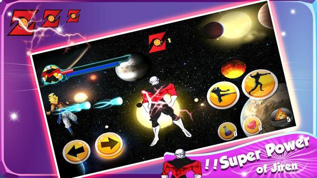 Galaxy Jiren Saiyan Battle screenshot 3