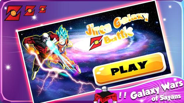 Galaxy Jiren Saiyan Battle poster