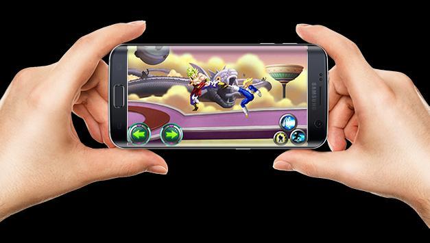 Saiyan Power Fusion Skill Battle poster