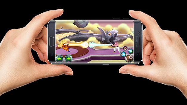 Saiyan Power Fusion Skill Battle apk screenshot