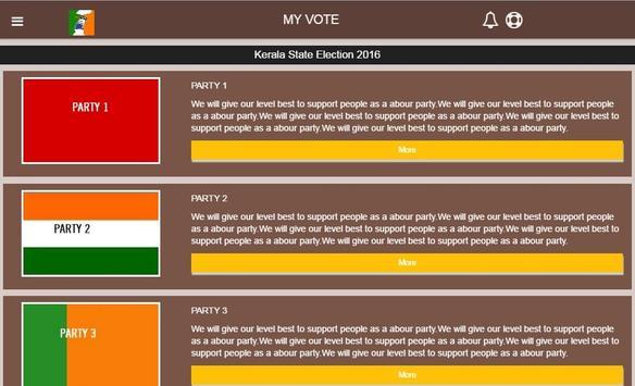 My Vote poster