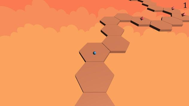 Hexa ZigZag screenshot 2