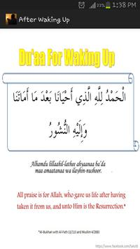 Daily Routine Duas apk screenshot