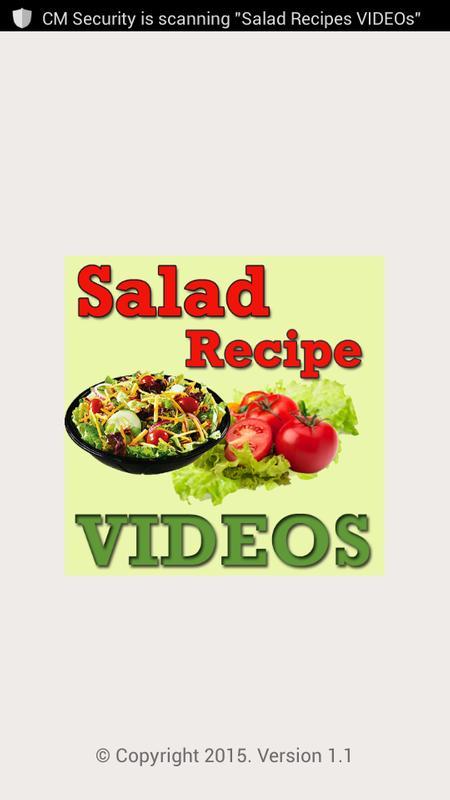 Salad recipes videos apk download free entertainment app for salad recipes videos poster forumfinder Choice Image