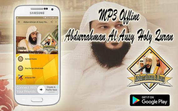 MP3 Offline Abdurrahman Al Ausy Holy Quran screenshot 1