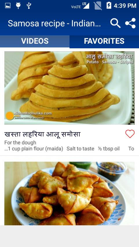 Samosa Recipe Indian Food Recipes Recipe Video For Android Apk Download