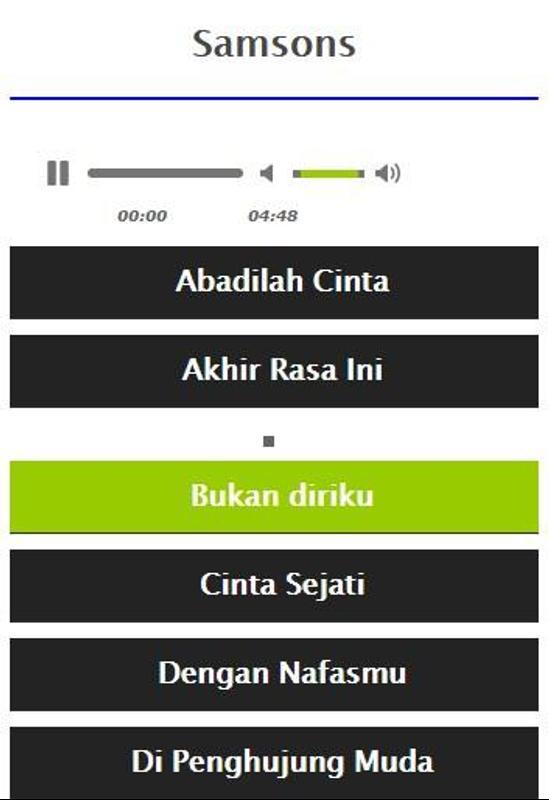 download mp3 samson kisah tak sempurna