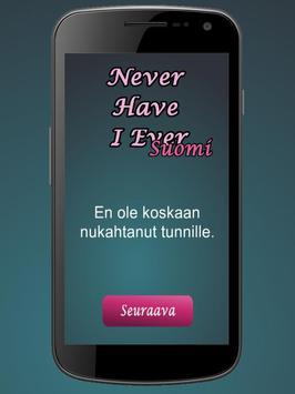 Never Have I Ever - Suomi screenshot 1