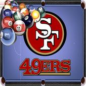 Billiards San Francisco 49ers Theme icon