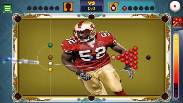 Billiards San Francisco 49ers Theme screenshot 5