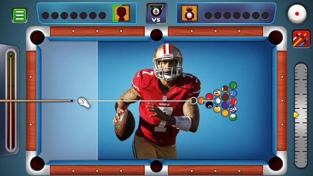Billiards San Francisco 49ers Theme screenshot 1
