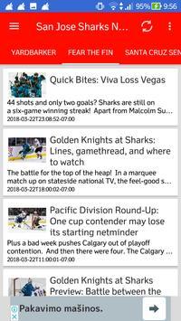 San Jose Sharks All News screenshot 1
