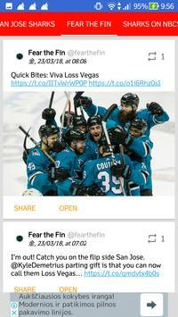 San Jose Sharks All News screenshot 5