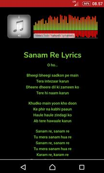 All Songs Sanam Re screenshot 1