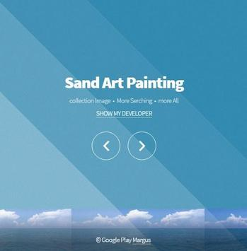 Sand Art Painting poster