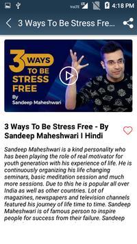 Sandeep Maheshwari Videos - Motivational Videos screenshot 3