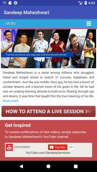 Sandeep Maheshwari screenshot 2
