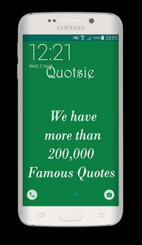 Quotsie poster