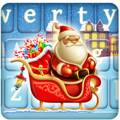 Santa Comes To Town Keyboard icon