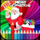 Santa Claus Coloring Book icon