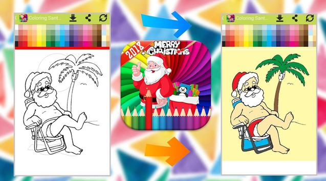 Santa Claus Coloring Book screenshot 1