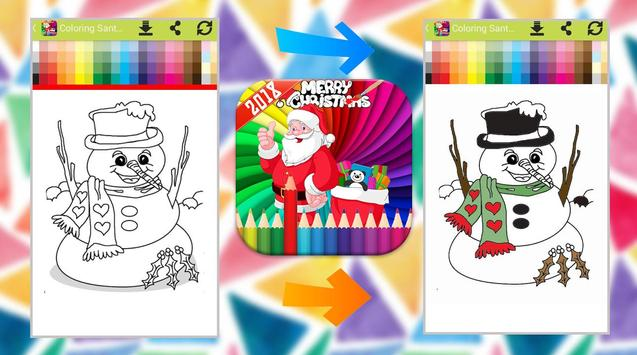 Santa Claus Coloring Book screenshot 2
