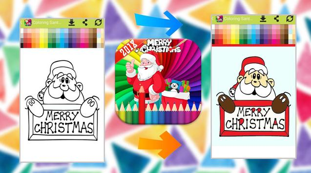 Santa Claus Coloring Book screenshot 3