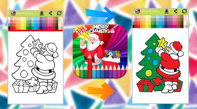 Santa Claus Coloring Book screenshot 4