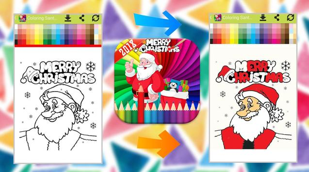 Santa Claus Coloring Book screenshot 5