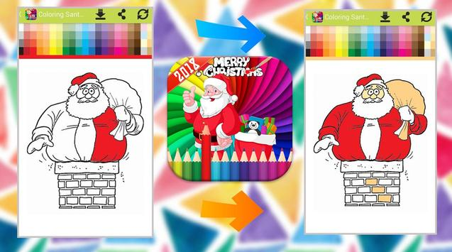 Santa Claus Coloring Book screenshot 6