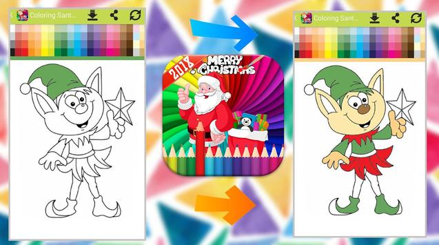 Santa Claus Coloring Book screenshot 7