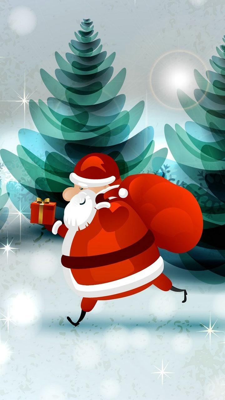 Weihnachtsbilder Als Hintergrund.Weihnachtsmann Hintergrund Weihnachtsbilder Für Android Apk