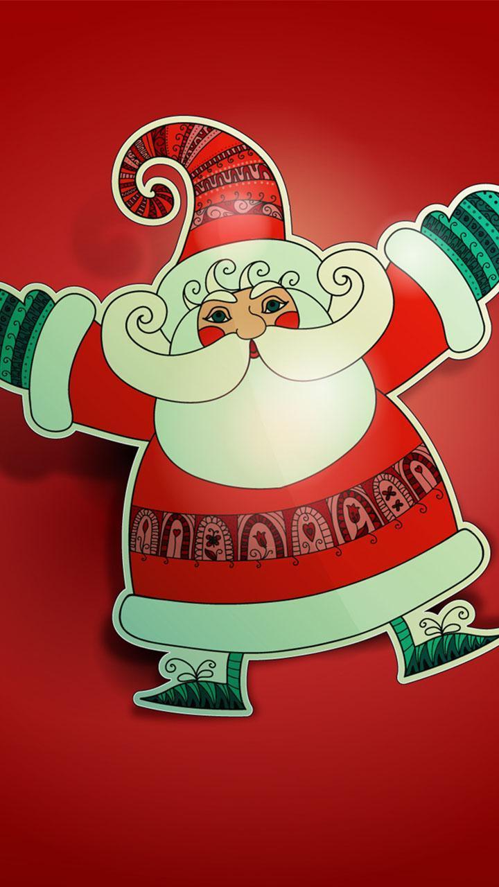 Animierte Weihnachtsbilder Mit Musik.Weihnachtsmann Hintergrund Weihnachtsbilder Für Android Apk