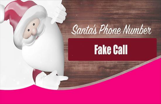Santa Claus Phone Number Call poster