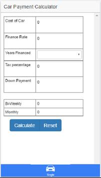 Simple Car Payment Calculator poster