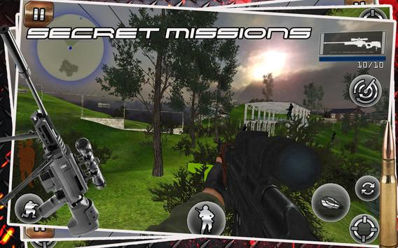 Sniper Assassin Shooting Fury 3D Gun Killer Games screenshot 1