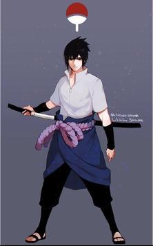 Sasuke Wallpaper 4K poster