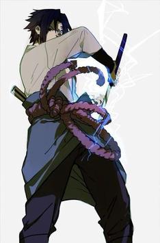 Sasuke Wallpaper 4K screenshot 5
